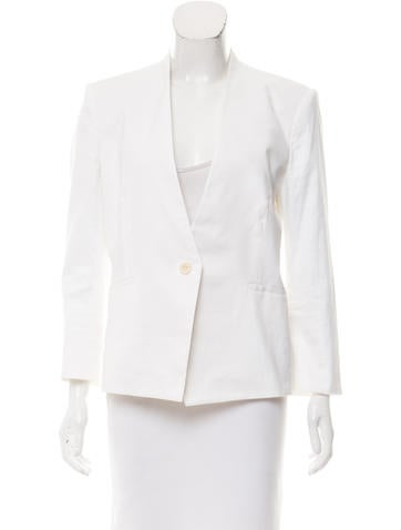 HELMUT Helmut Lang Tailored Single-Breasted Blazer None