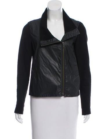 HELMUT Helmut Lang Asymmetrical Zip-Up Jacket None