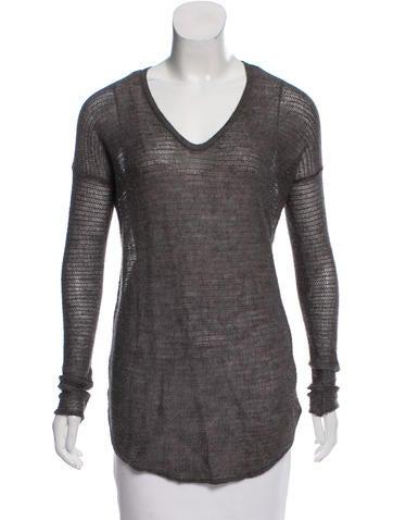 HELMUT Helmut Lang Alpaca-Silk Blend Sweater None