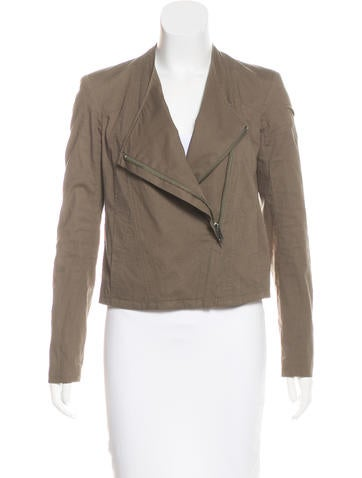 HELMUT Helmut Lang Structured Woven Jacket None