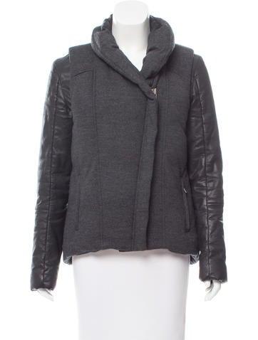 HELMUT Helmut Lang Wool Down Coat None