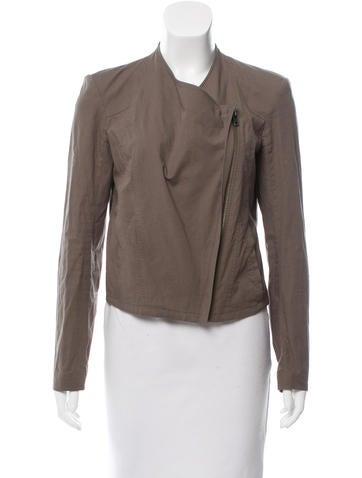 HELMUT Helmut Lang Lightweight Asymmetrical Jacket None