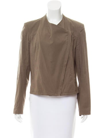 HELMUT Helmut Lang Collarless Casual Jacket None