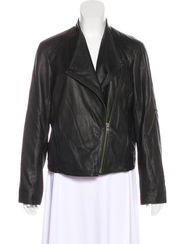 HELMUT Helmut Lang Zip-Up Leather Jacket None