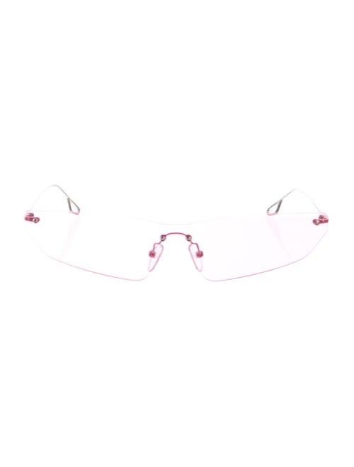 Philó Cat-Eye Tinted Sunglasses Silver