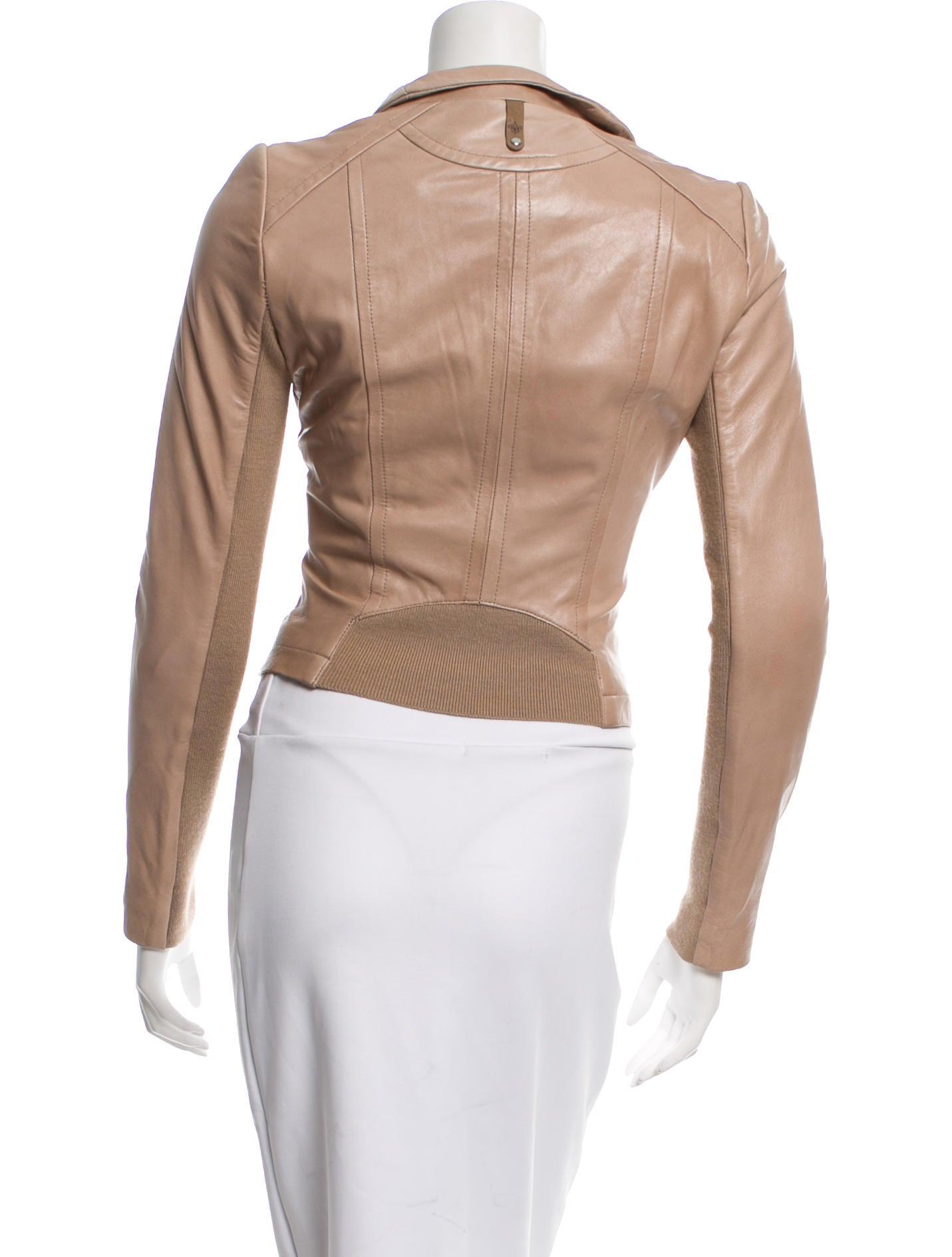 Mackage Leather Moto Jacket Clothing Whm20264 The