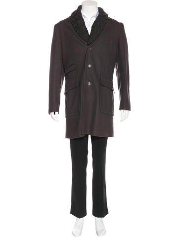 Mackage Wool Layered Coat None