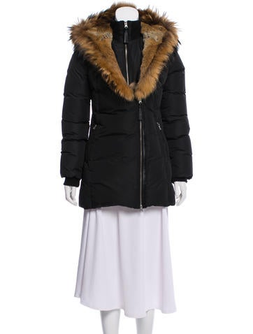 Mackage Fur-Trimmed Down Coat None