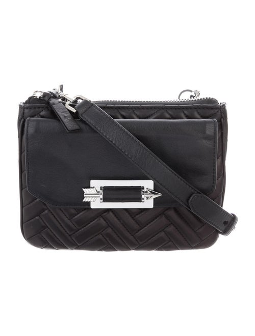 Mackage Leather Crossbody Bag Black