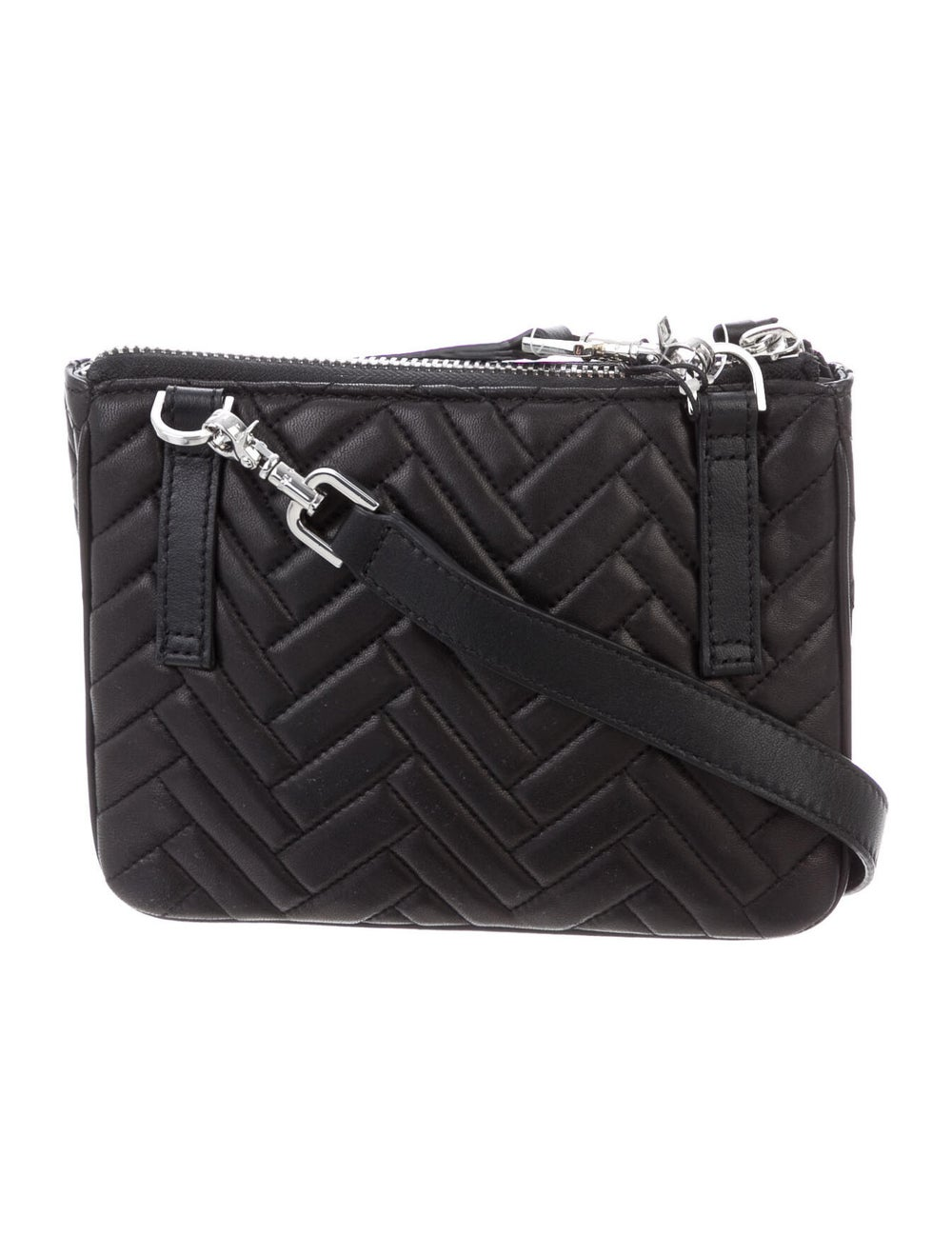 Mackage Leather Crossbody Bag Black - image 4