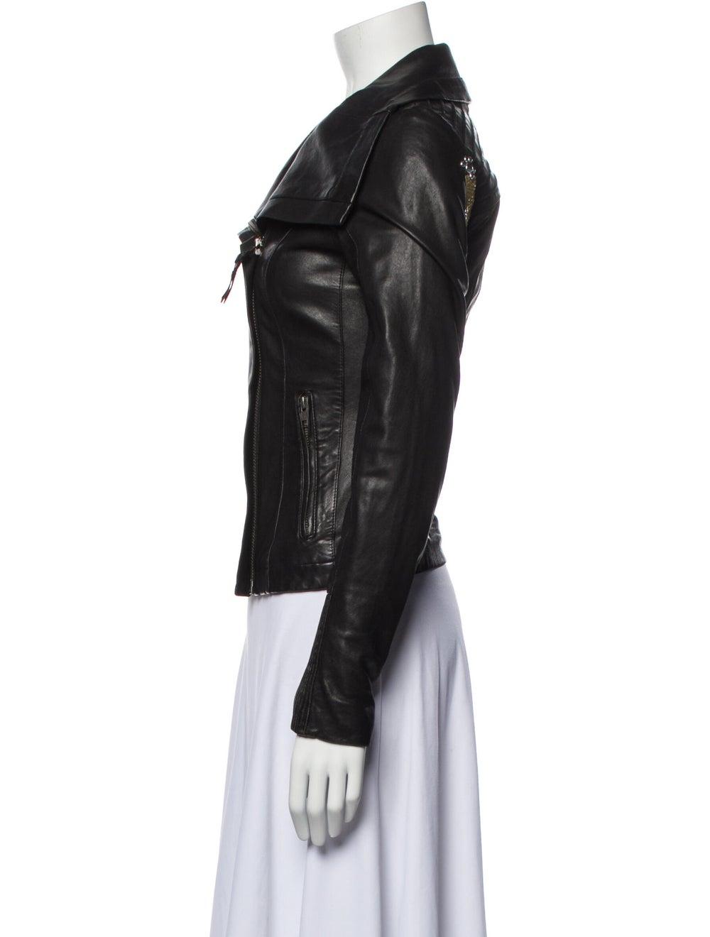 Mackage Biker Jacket Black - image 2