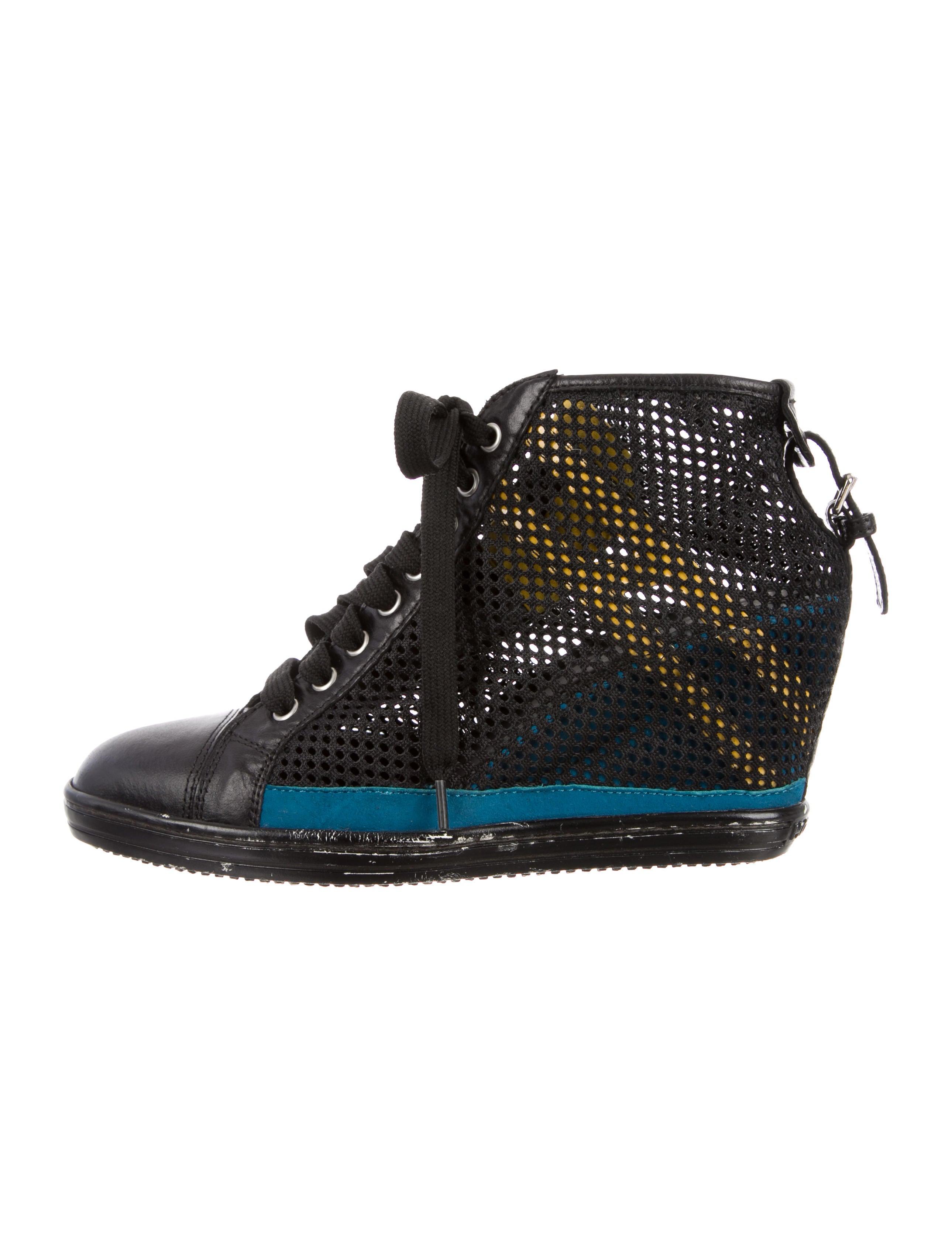 Hogan Rebel Mesh Wedge Sneakers clearance 2014 unisex kKwWKw