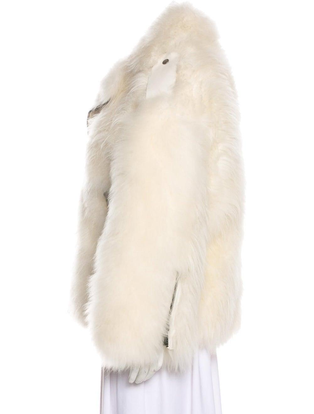 Hogan Shearling Leather Jacket - image 2