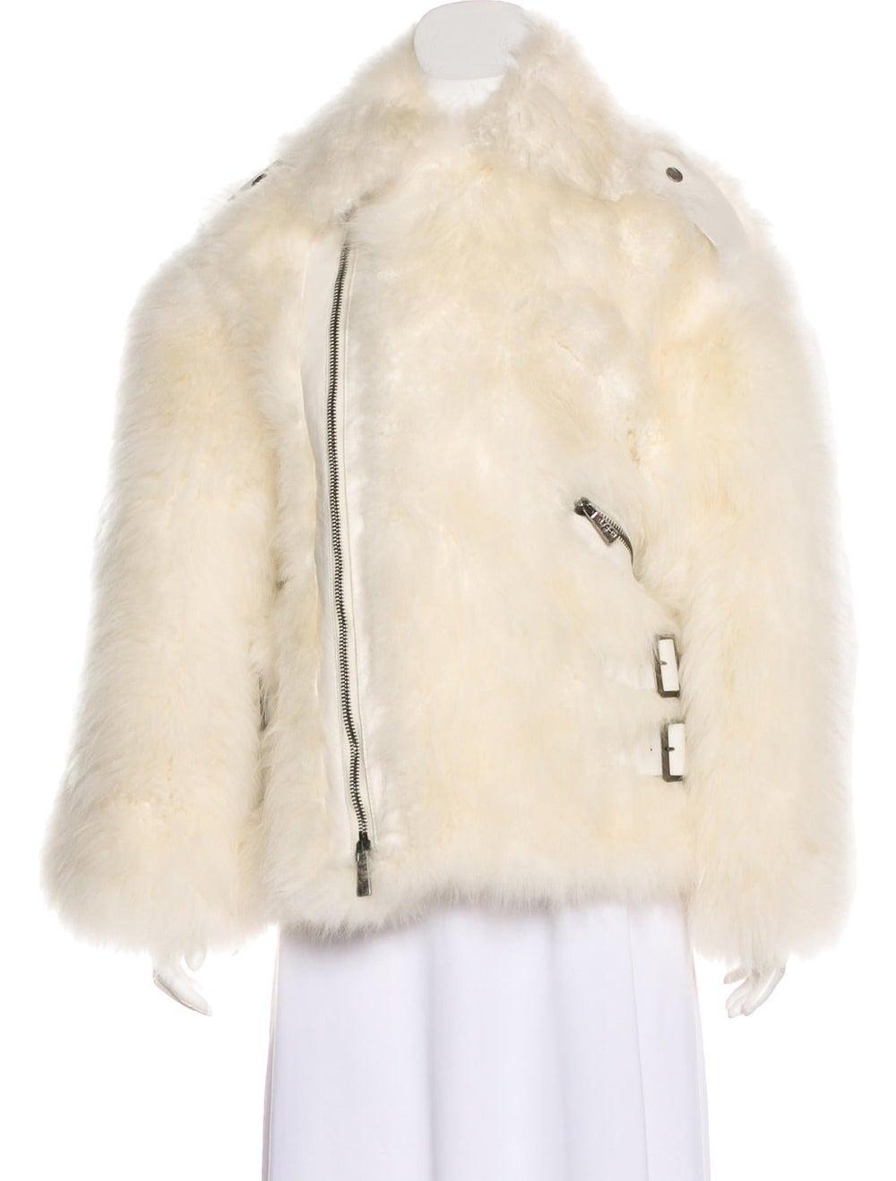 Hogan Shearling Leather Jacket - image 4