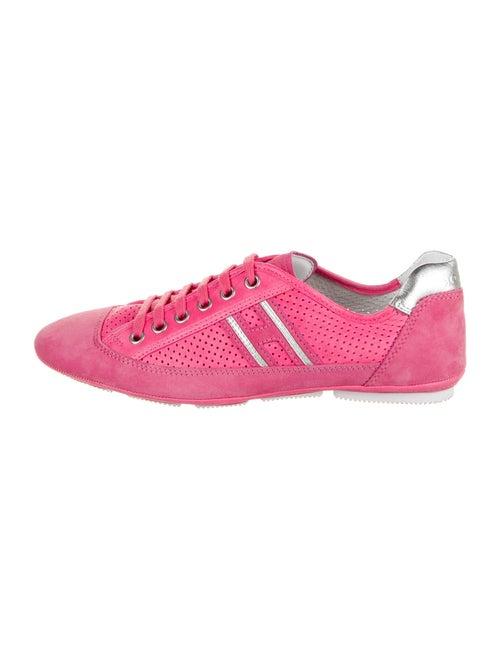 Hogan Leather Sneakers Pink