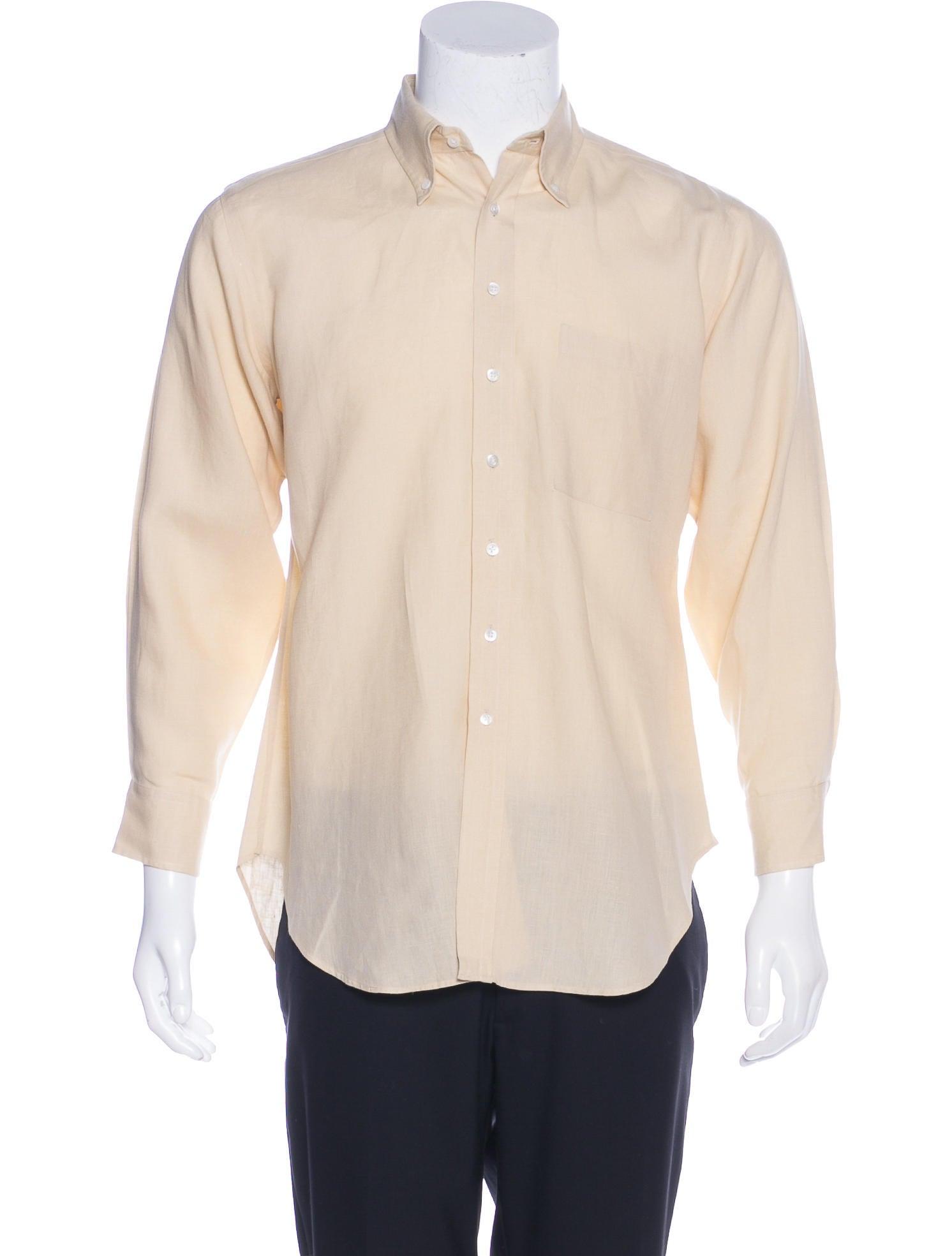 holland holland linen button up shirt clothing