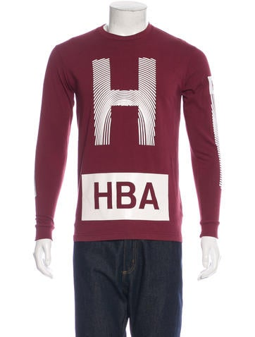 Hood by Air Long Sleeve Logo T-Shirt None