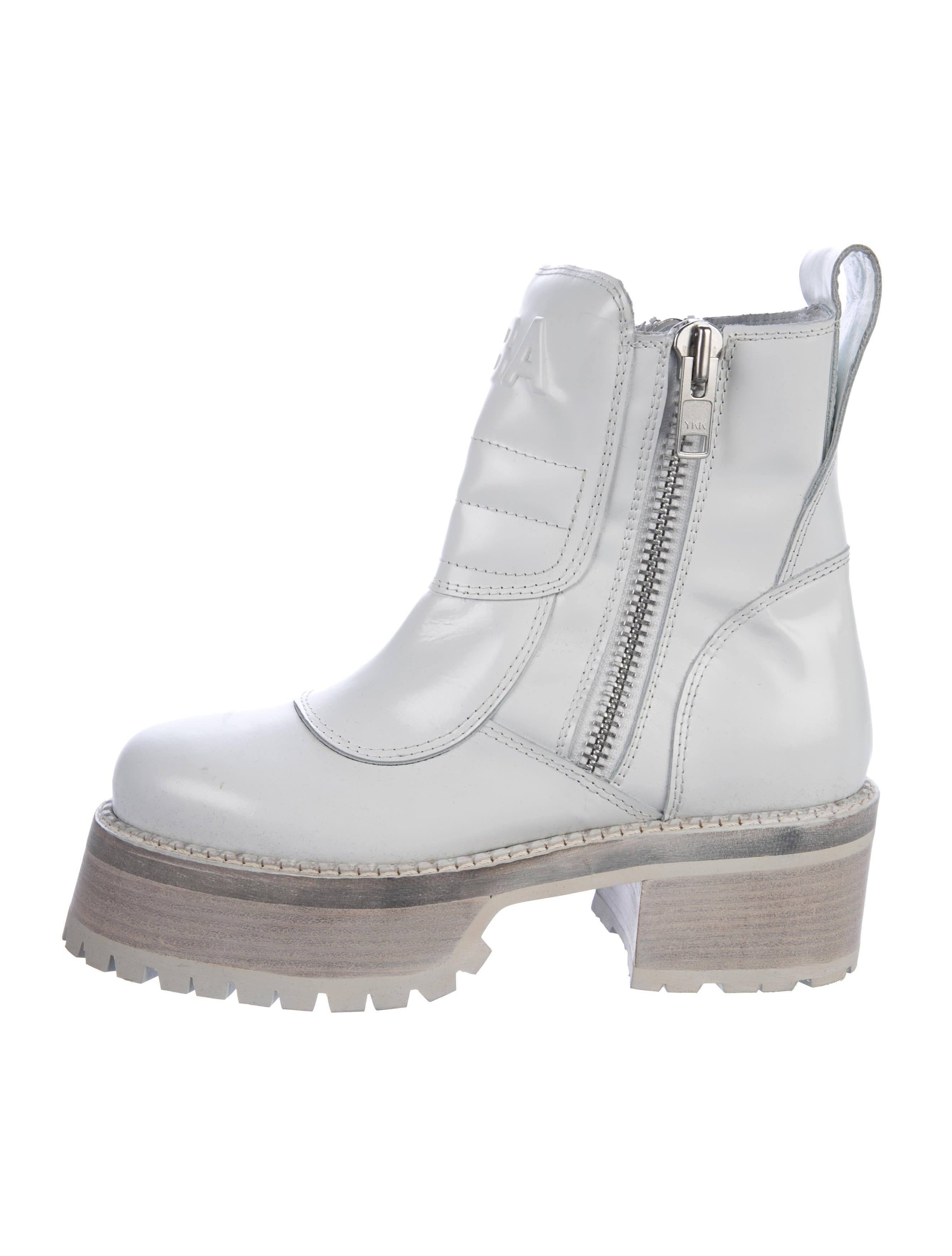 Hood By Air Centaur Leather Boots Shoes Whood20206 The Realreal