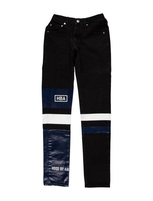 Hood by Air Skinny Jeans black