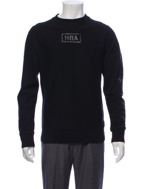Hood by Air Printed Logo Sweatshirt black