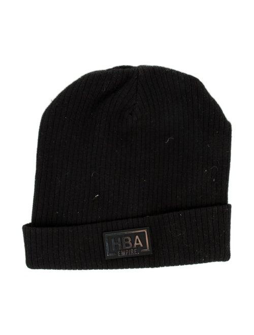 Hood by Air Ribbed Logo Beanie black