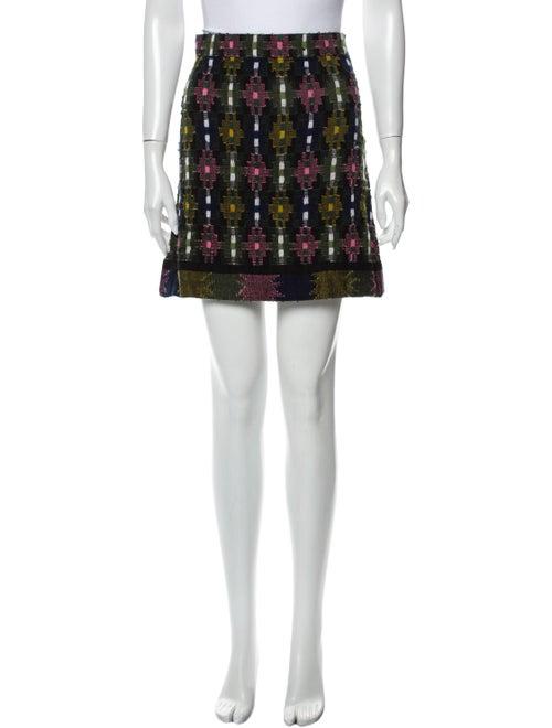 Happy Sheep Cashmere Mini Skirt Green