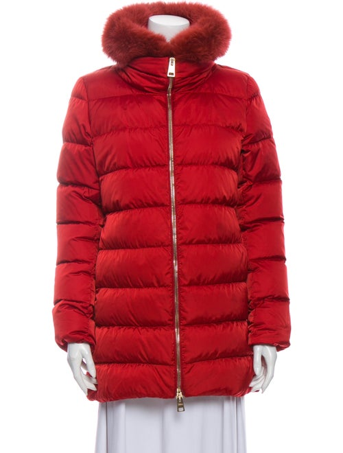 Herno Down Coat Red