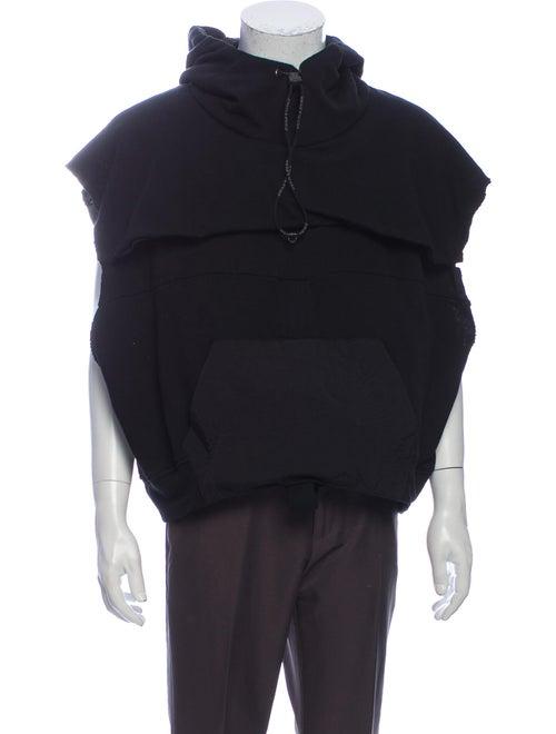 Hamcus Crew Neck Sleeveless Sweatshirt Black