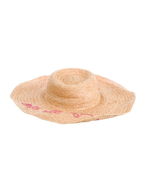 Hat Attack Whats Your Motto Sun Hat Tan
