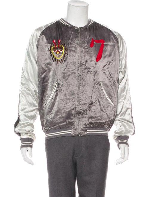 Human Made Reversible Souvenir Jacket silver