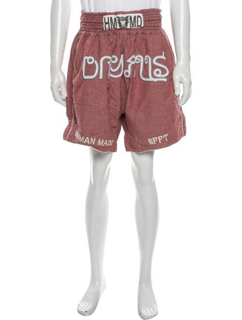 Human Made Printed Jogger Shorts Pink