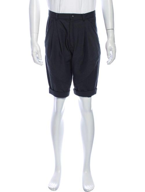 Henrik Vibskov Houndstooth Print Shorts Grey
