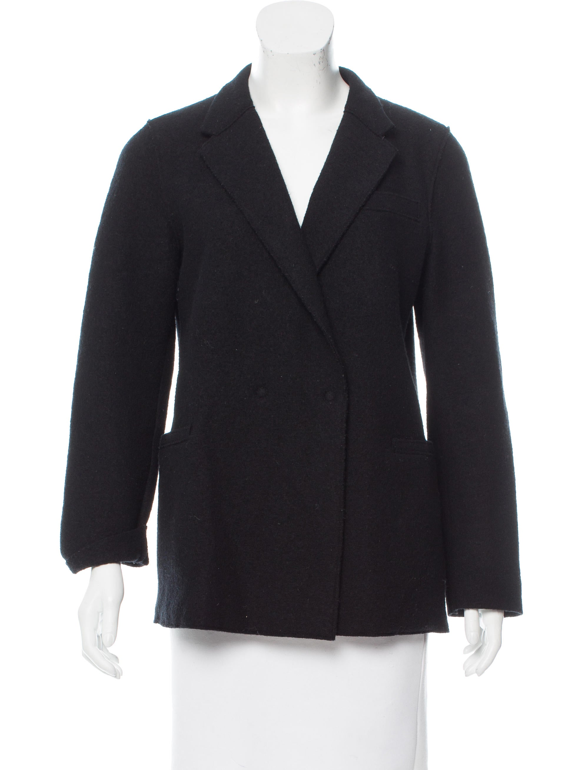 harris wharf london wool button up jacket clothing whwln20057 the realreal. Black Bedroom Furniture Sets. Home Design Ideas