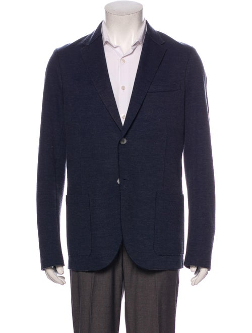 Harris Wharf London Sport Coat Blue