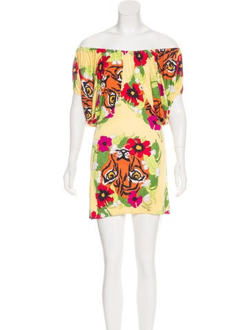 Mara Hoffman Silk Mini Dress None