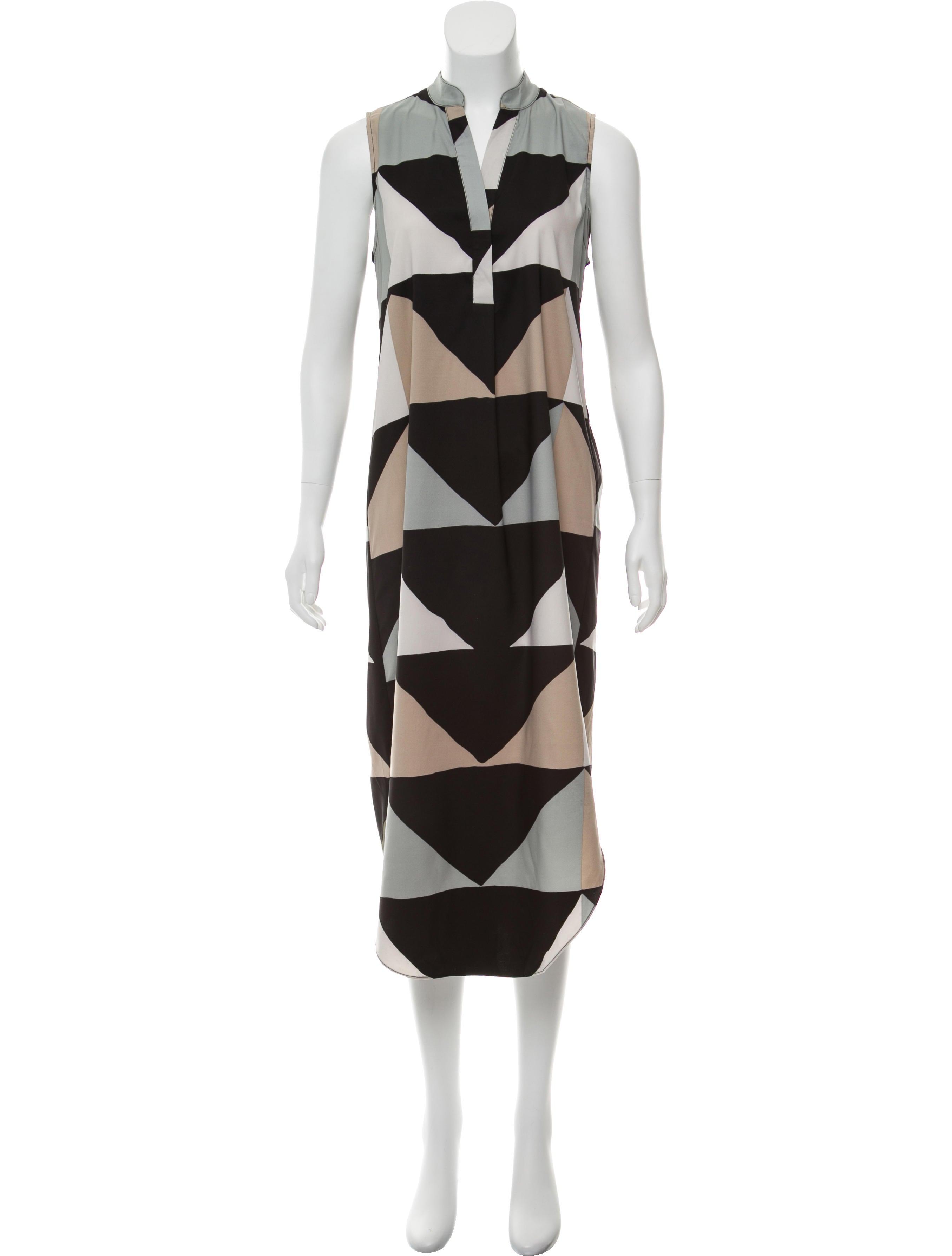 89ff86be155 Mara Hoffman Geometric Midi Dress - Clothing - WHX27546