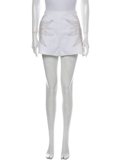 Mara Hoffman Mini Shorts White