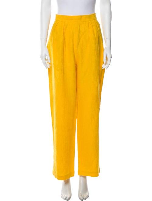 Mara Hoffman Wide Leg Pants Yellow