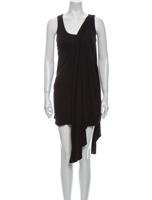 Mara Hoffman Silk Mini Dress Black