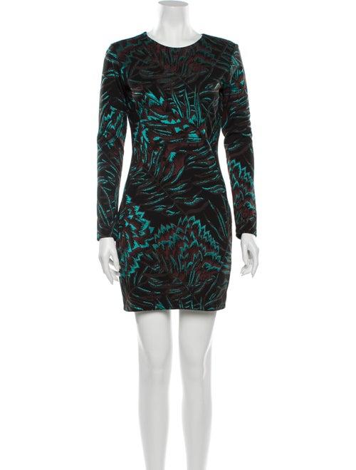 Mara Hoffman Printed Mini Dress Black