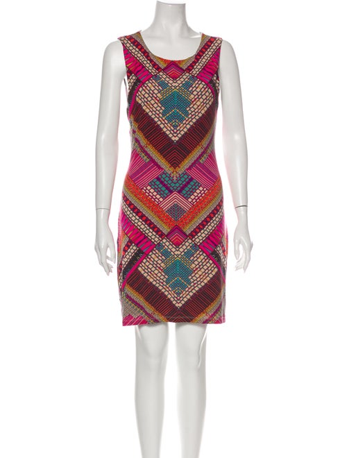 Mara Hoffman Printed Mini Dress Pink