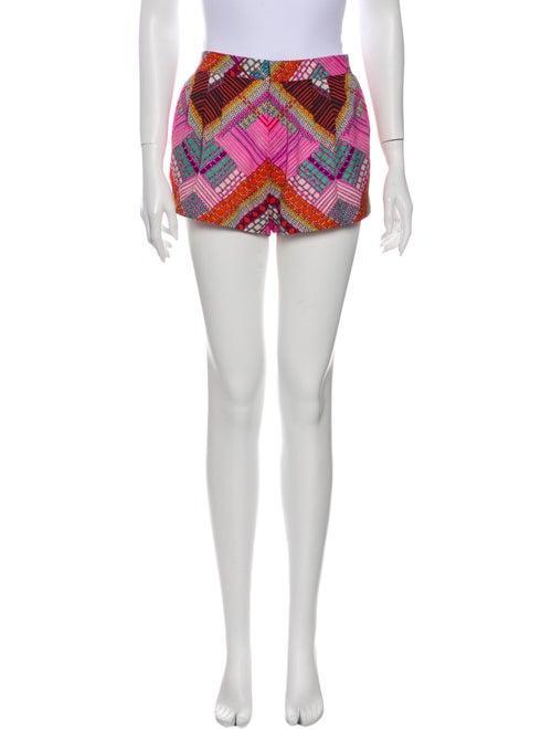 Mara Hoffman Printed Mini Shorts Pink