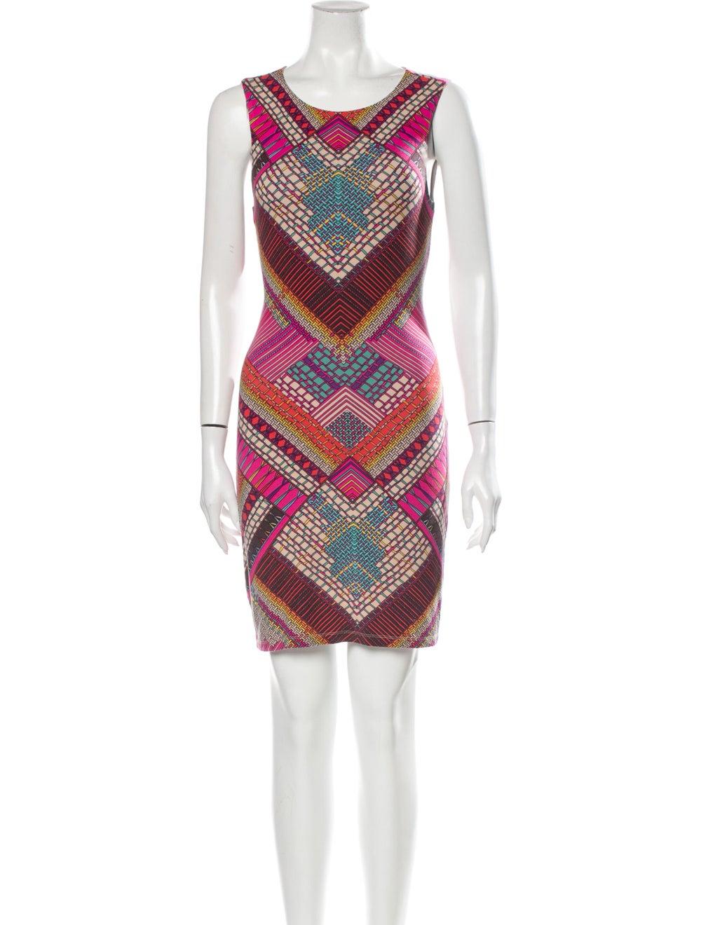 Mara Hoffman Printed Mini Dress Pink - image 1