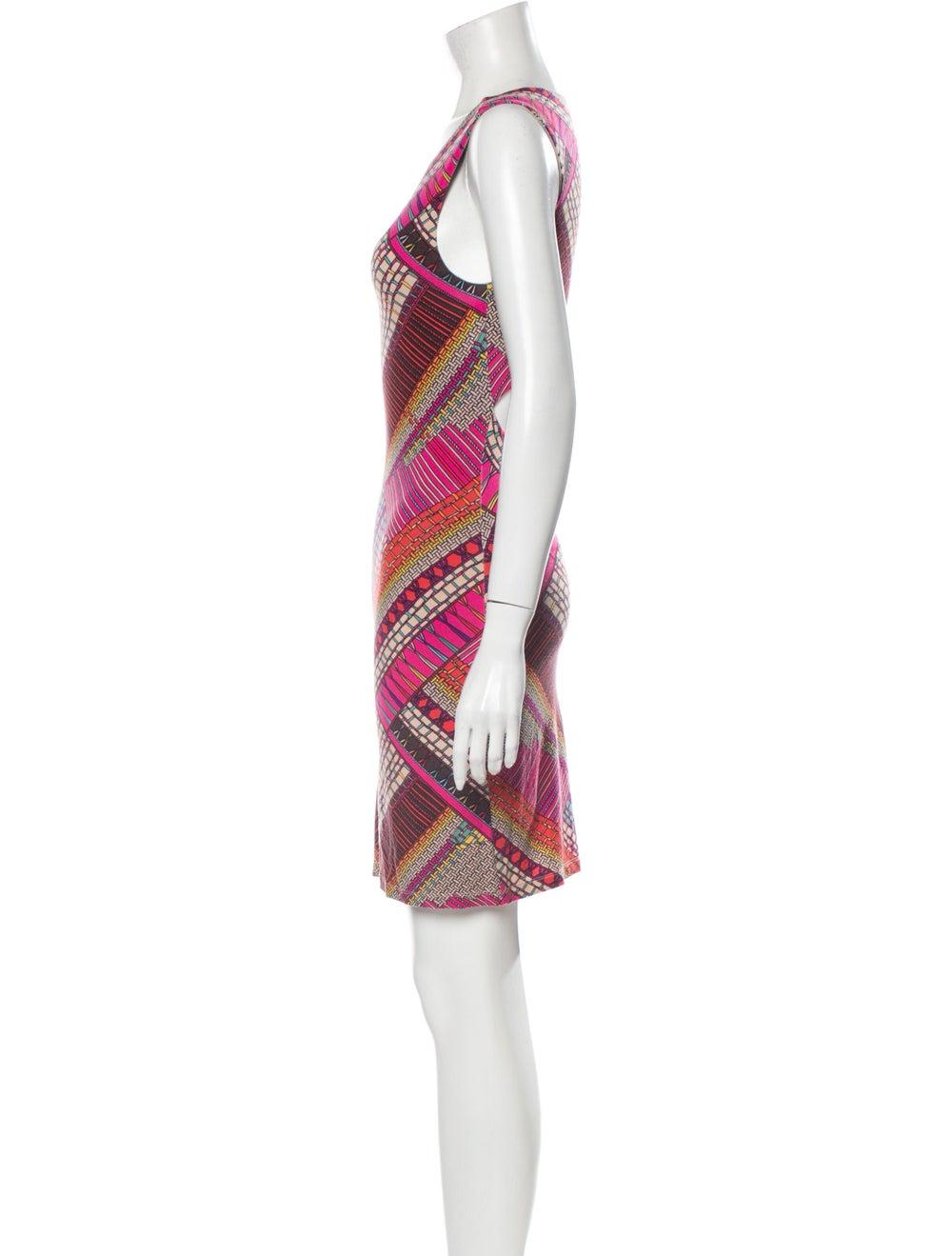 Mara Hoffman Printed Mini Dress Pink - image 2