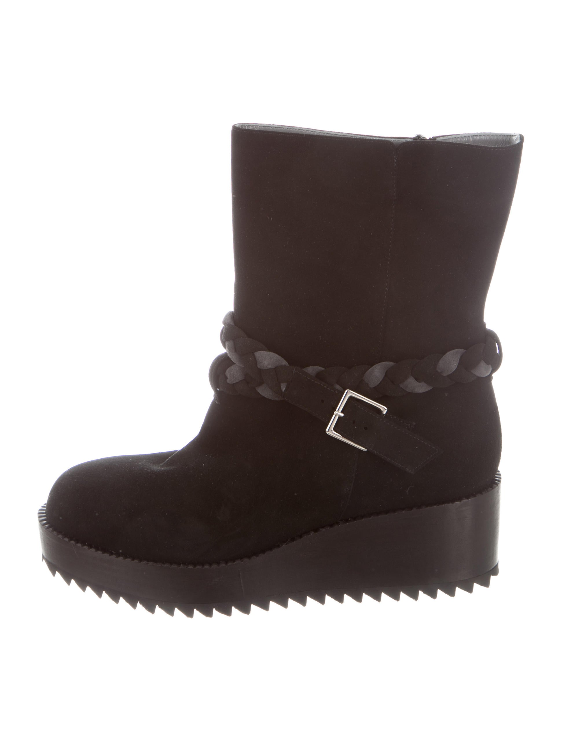 sale shop offer Ritch Erani NYFC Suede Wedge Boots w/ Tags buy cheap best seller sXPKYQ