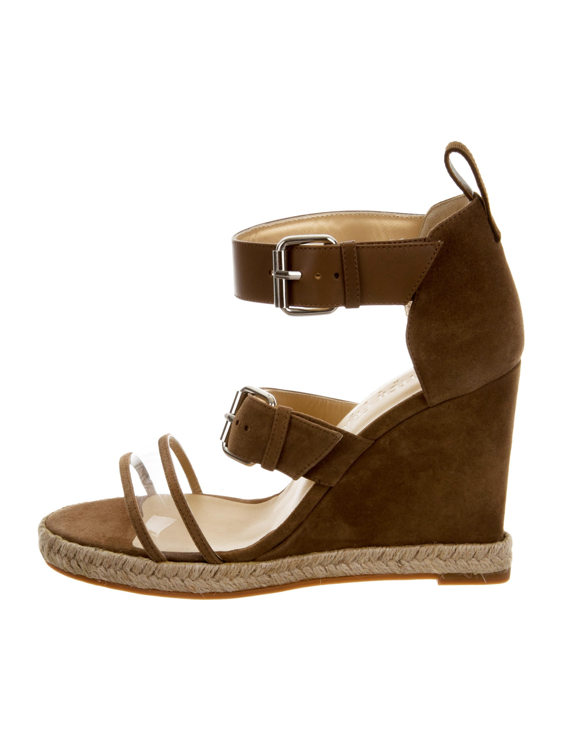 Ritch Erani NYFC Suede Espadrille Wedges w/ Tags free shipping get to buy 2VW0zW