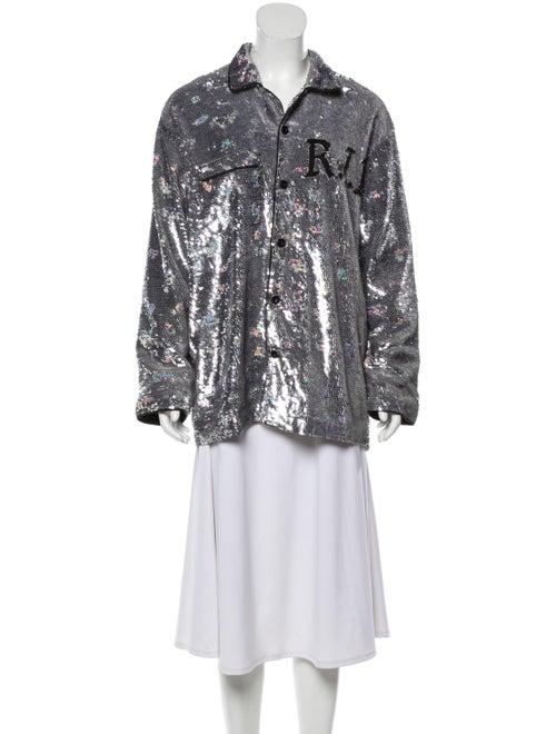 Ashish Jacket Silver