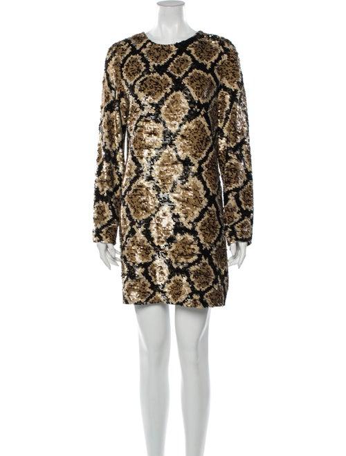 Ashish Silk Mini Dress
