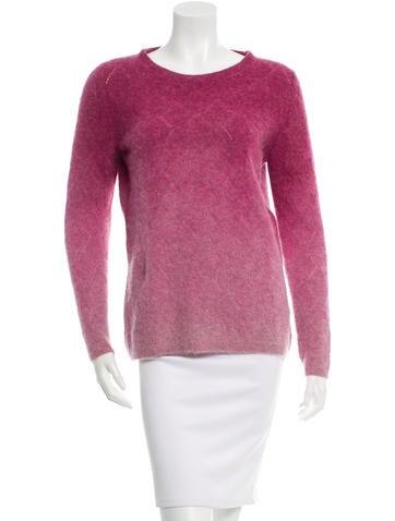 Massimo Alba Ombré Crew Neck Sweater w/ Tags None