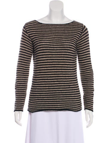 Massimo Alba Rib Knit Cashmere Top None